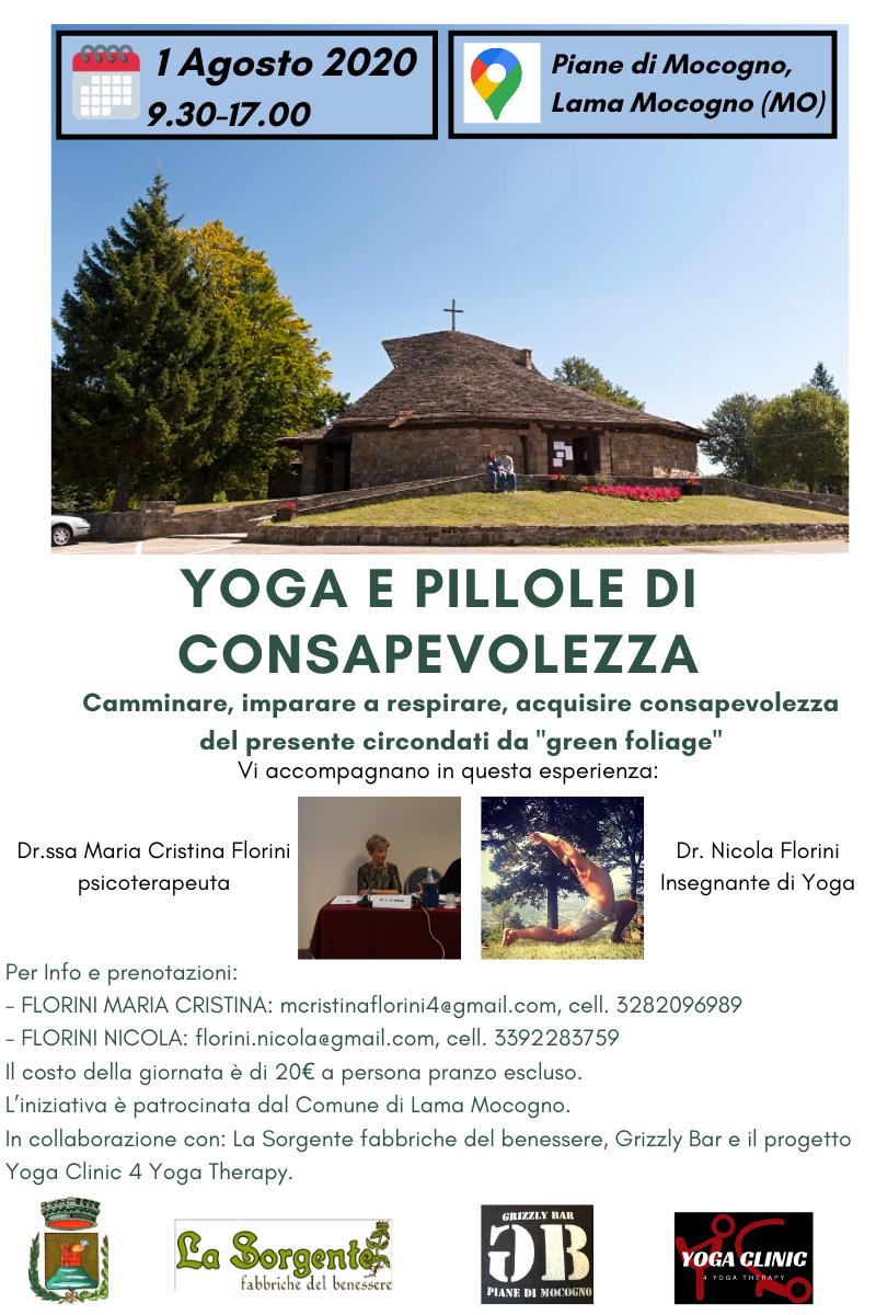Comune Di Lama Mocogno Canali Tematici Yoga E Pillole Di Consapevolezza 1 Agosto Dalle 9 30 Alle 17 00 Alle Piane Di Mocogno